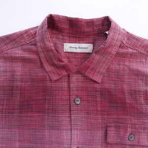 Tommy Bahama Casual Mens Shirt XL Cotton Silk